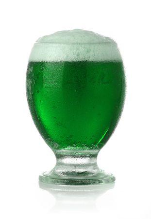 St. Patricks Day green beer photo