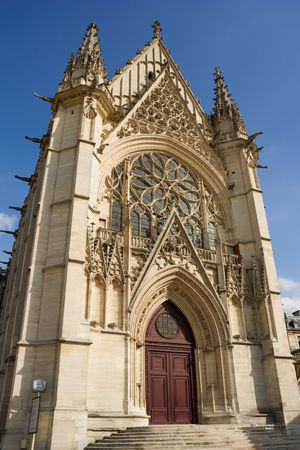 founded: The Sainte-Chapelle, founded in 1379 inside the Vincennes Castle near Paris, France