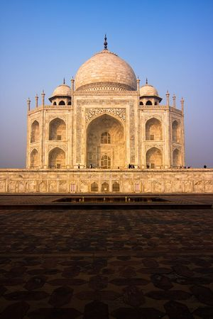 uttar pradesh: The Taj Mahal mausoleum - Agra, Uttar Pradesh, India