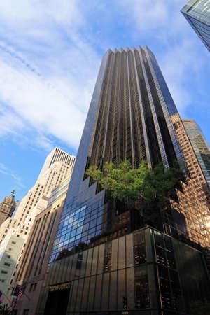 The Trump Tower - New York City, USA photo