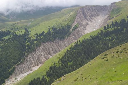 kyrgyzstan: Deslizamiento, Kirguist�n