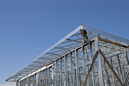 Steel Frame Construction photo