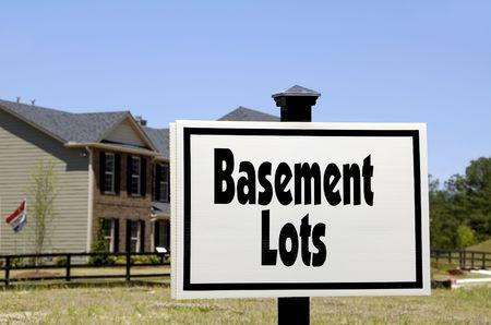 Realty Sign - Basement Lots photo
