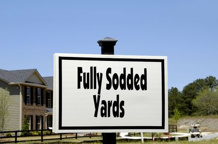 Realty Sign - Fully Sodded Yards photo