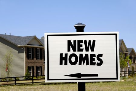 Realty Sign - New Homes photo