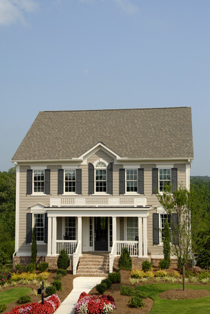 Designer Model Home Stock Photo - 1439172