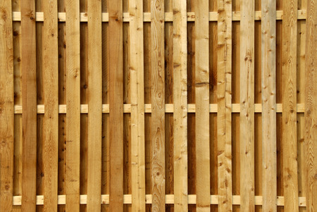 Wood Privacy Fence Stock Photo - 1439174