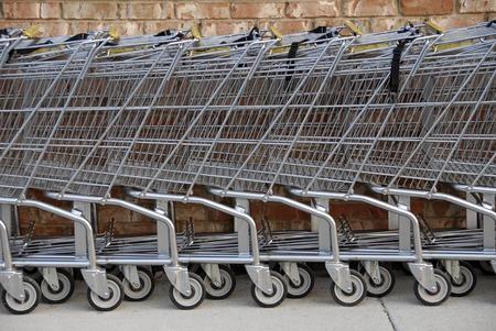 Shopping Carts Stock Photo - 1439173