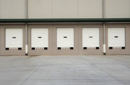 warehouse building: Commercial Loading Dock