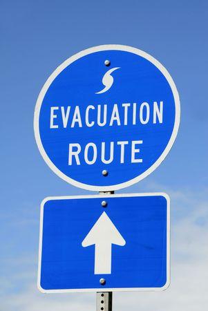 evacuatie: Evacuatieprocedures Route Inloggen
