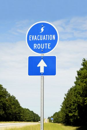evacuation: Hurricane Evacuation Route