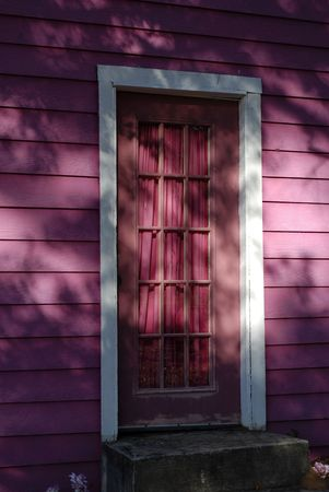 playhouse: Enchanted Doorway to Childrens Playhouse                        Stock Photo
