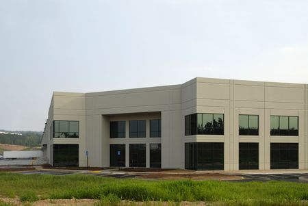office building exterior: Commercial Distribution Warehouse for lease