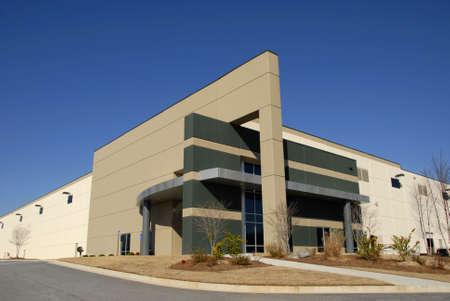 batiment industriel: Commercial moderne centre de distribution