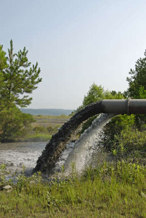 Waste Water discharged from Industrial Plant