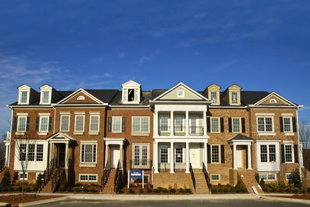 townhome: New Townhouses under Construction