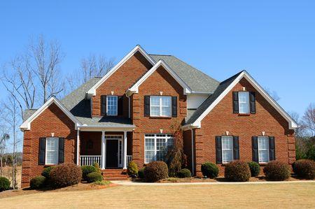 Large New Luxury Home Stock Photo - 4384580