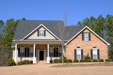 Large New Luxury Home Stock Photo - 4384579