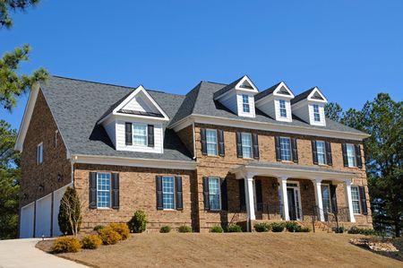 Large New Luxury Home Stock Photo - 4384581