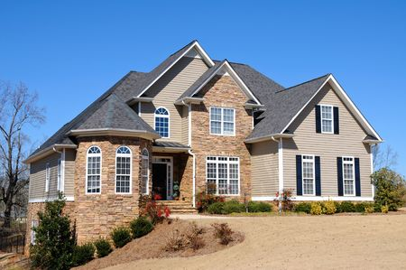 Large New Luxury Home Stock Photo - 4384582