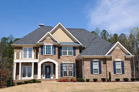 Large New Luxury Home Stock Photo - 4730922