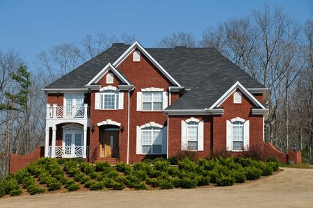 Large New Luxury Home Stock Photo - 4730917