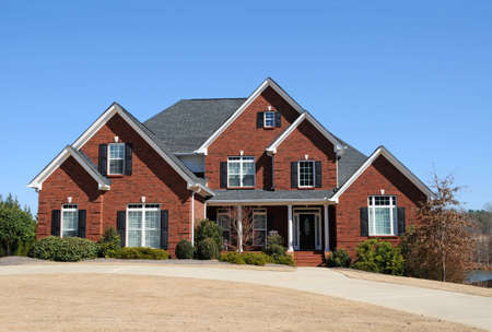 Large New Luxury Home Stock Photo - 4730919