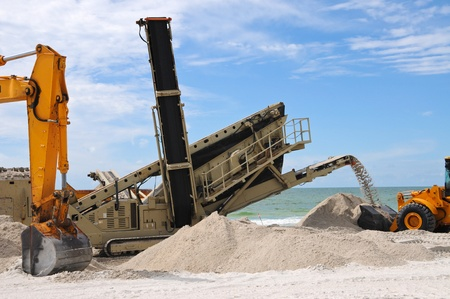 gulf of mexico: Beach Restoration