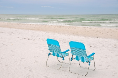 anna: Lounge Chairs on the Beach