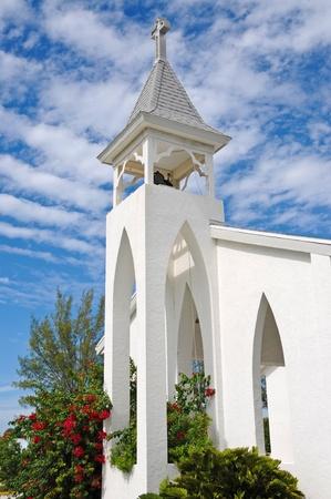 steeples: Anna Maria Island Church Stock Photo