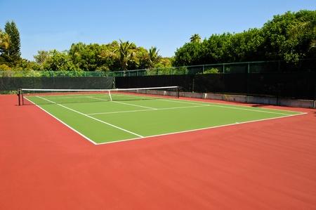 tenis: Pista de tenis