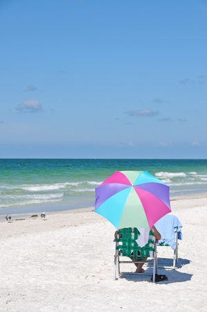 gulf of mexico: Enjoying a Relaxing Day at the Beach