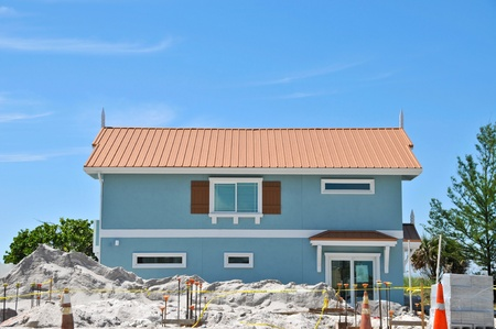 Large New Beach House under Construction photo