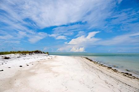 Beautiful Coastline on Anna Maria Island, Florida photo