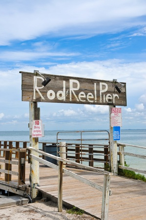 Rod and Reel Fishing Pier on Anna Maria Island, FL photo