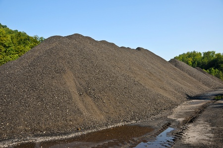 heap: A Large Stock Pile of Coal