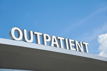 outpatient: Hospital Outpatient Surgery Center Sign