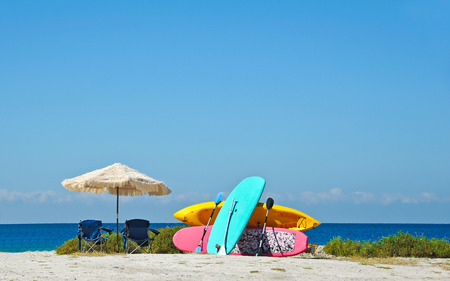 rentals: Umbrellas, Chairs, Paddle Boards and Kayak Rentals on the Beach