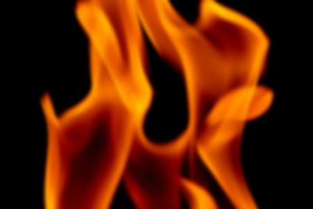 dynamic heat black: Blur Background Image of the Flames from a Torch at Night