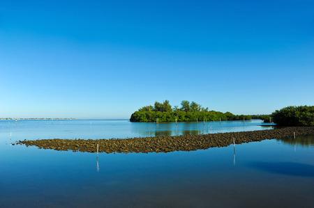 bayou: Perico Bayou located on the west coast of Florida between Bradenton and Anna Maria Island Stock Photo