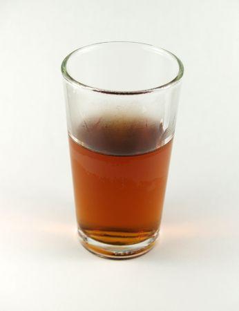 brown liquor frozen glass Stock Photo - 375062
