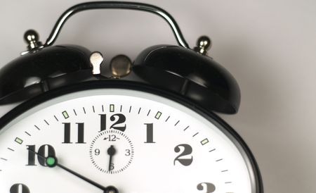 vintage alarm clock detail Stock Photo - 396696