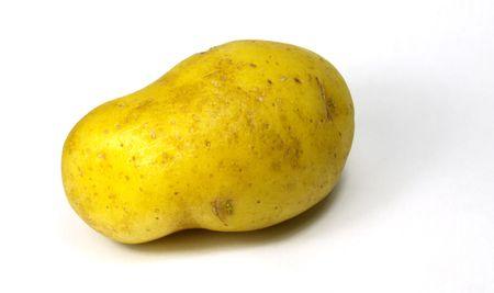 unique de pommes de terre isolé Banque d'images