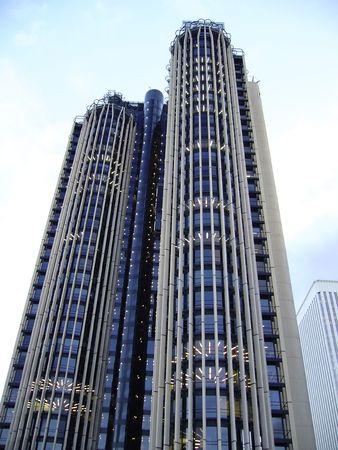 bâtiment moderne au centre-ville Banque d'images