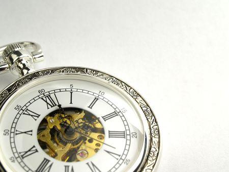 vieille montre de poche Banque d'images