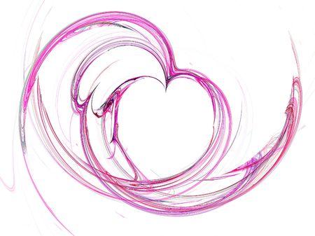 Saint-Valentin liquide coeur de fond