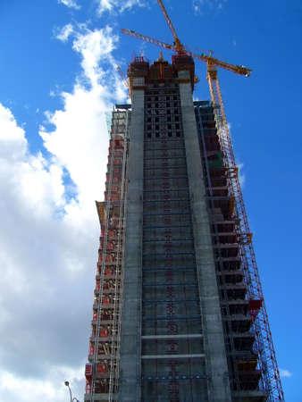 Construction de gratte-ciel