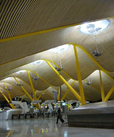 architecture d'intérieur moderne aéroport de détails