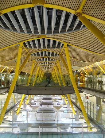 intérieur architecture moderne, l'aéroport de détail