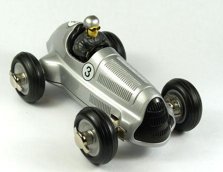 Millésime voiture jouet  Banque d'images